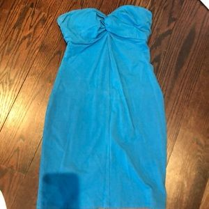 Victoria secret strapless dress